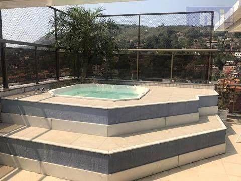 Cobertura com 3 quartos à venda, 140 m² por R$ 815.000 - Icaraí