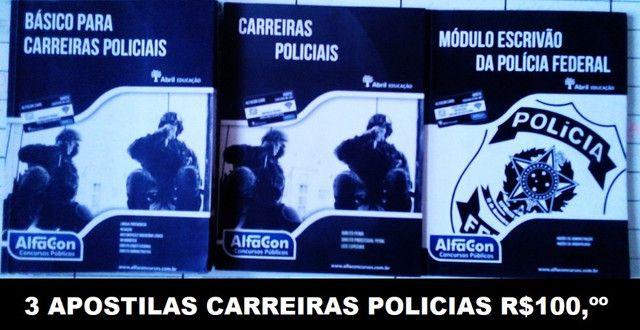 3 Apostilas Carreiras Policiais
