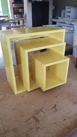 Nicho laqueado amarelo  - Foto 3