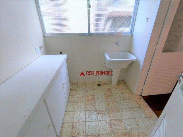 Apartamento com 2 dormitórios para alugar, 84 m² por R$ 5.300,00/mês - Lagoa - Rio de Jane - Foto 8