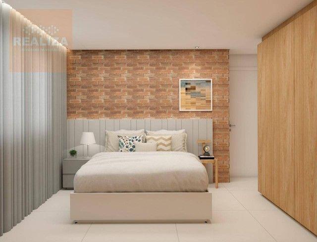 Apartamento com 3 dormitórios à venda, 120 m² por R$ 690.000 - Pedra - Eusébio/CE - Foto 6