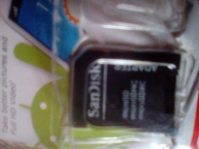 Adptador da San disk novo  - Foto 2