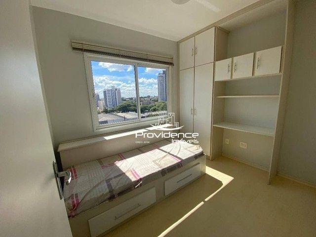 Apartamento com 3 dormitórios para alugar, 61 m² por R$ 1.250,00/mês - Centro - Cascavel/P - Foto 11
