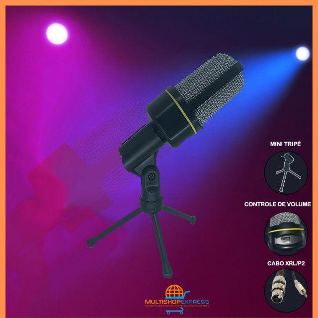 Microfone Condensador Gravação Studio Lives Vídeos - Foto 5