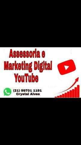 Assessoria e Marketing Digital YOUTUBE