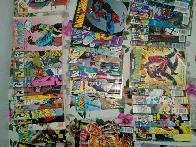 Coleçoes de hqs/quadrinhos raros e em otimo estado ( Vendo em coleções) - Foto 2
