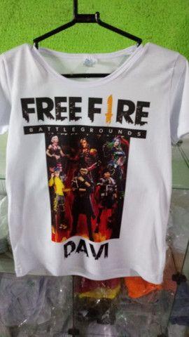 FreeFire camisas - Foto 2