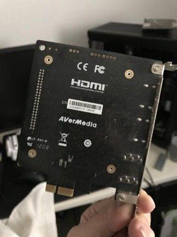 Avermedia live gamer HD placa de captura - Foto 3