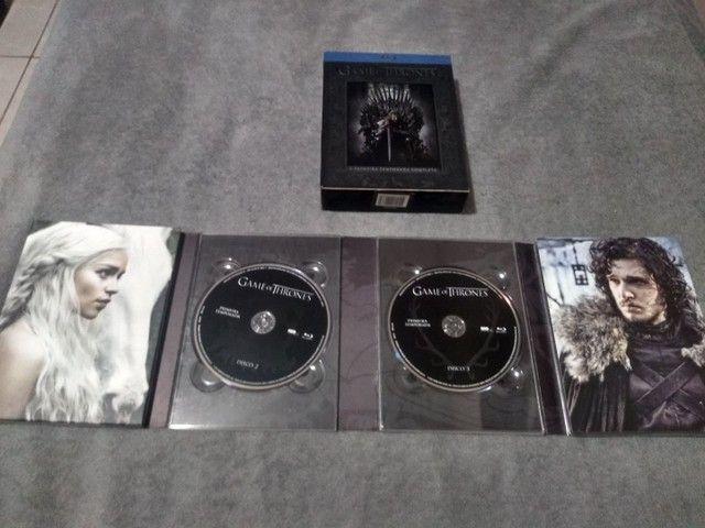 Box Raro - Blu-ray - Game of Thrones (1º Temporada) - Foto 4