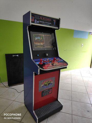 Fliperama Arcade 1.000 Jogos Venda e locação ABC - Foto 4