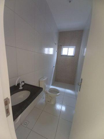 JP casa nova de 3 quartos 2 banheiros em rua asfaltada e do lado da sombra - Foto 8
