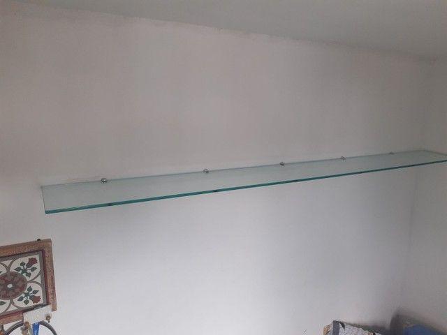 Prateleira de vidro temperado - Foto 2