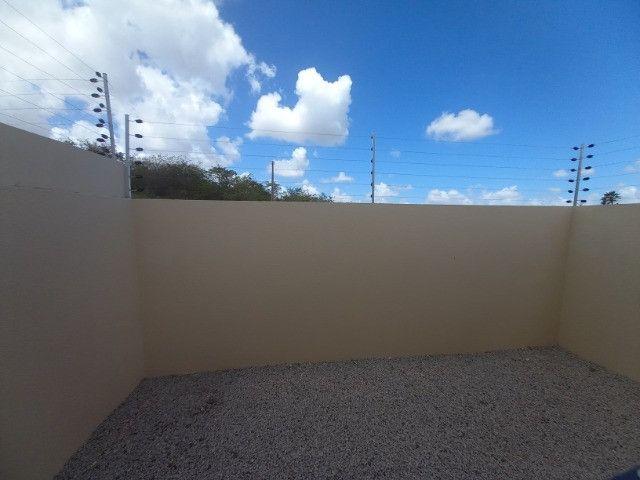 JP casa nova de 3 quartos 2 banheiros em rua asfaltada e do lado da sombra - Foto 11