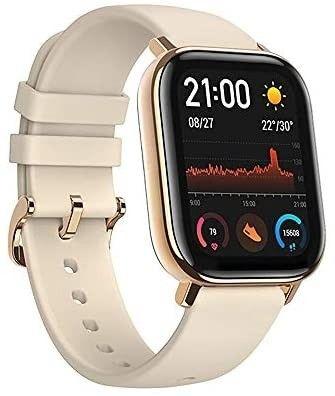 Relógio Xiaomi Amazfit GTS-A1914 - Preto - Cinza - Dourado - Foto 4