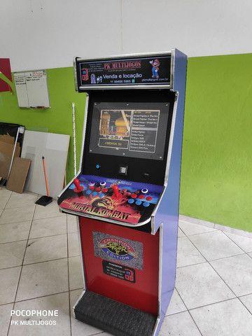 Fliperama Arcade 1.000 Jogos Venda e locação ABC - Foto 3