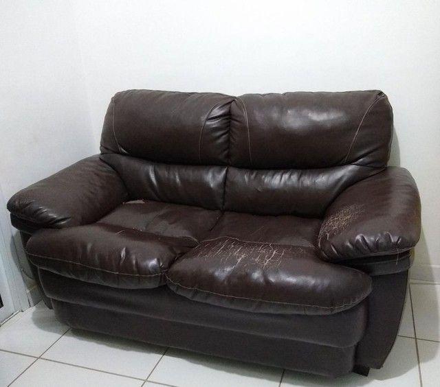 Sofá usado de 2 lugares - Foto 5