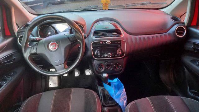 Fiat punto Sporting 1.8 flex novinho top - Foto 6