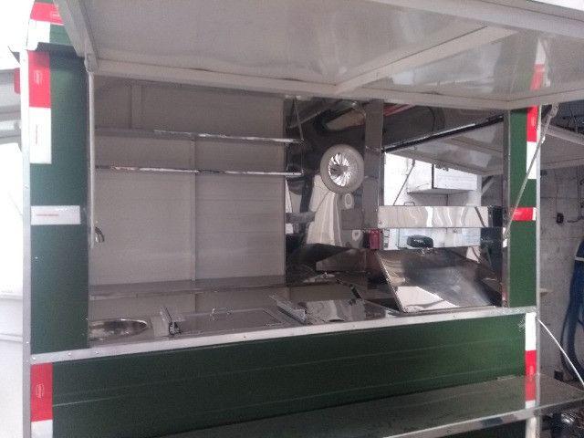 Treilher simples 1,70 para lanches açai sorvete food truck - Foto 10