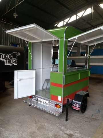 Treilher simples 1,70 para lanches açai sorvete food truck
