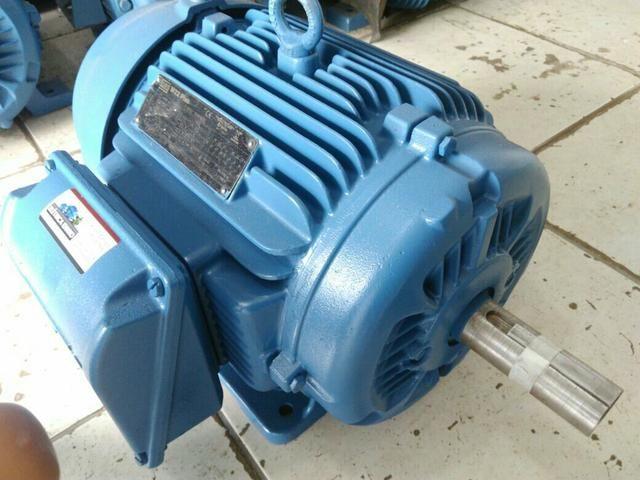 Motor elétrico Weg 20 cv 4 pólos 1720rpm