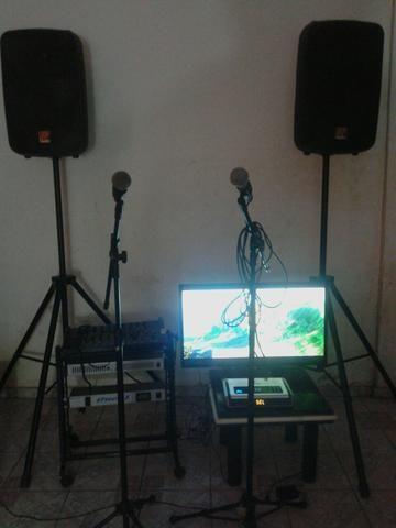 Locação de Videokê/Karaokê