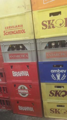 Caixa de cerveja completa