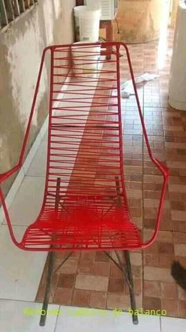Reforma de cadeiras de balanco e venda - Foto 2