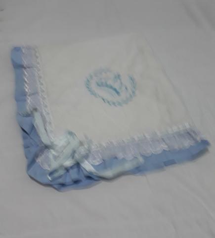 Manta azul para nenino - Foto 2