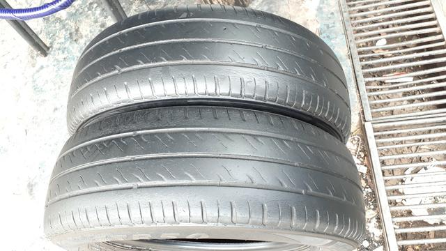 Par de pneu 175/70/13 usado meia vida - Foto 2