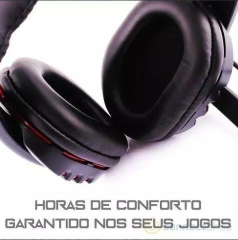 Fone Ouvido Gamer Usb Headphone Microfone Ps4 Pc Notebook .5.1 - Foto 5