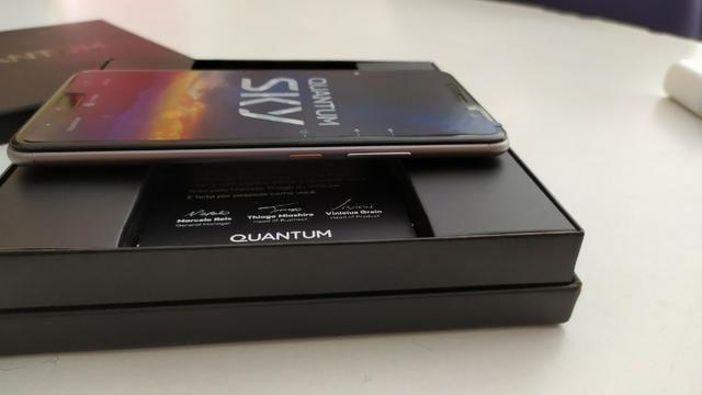Smartphone Quantum Sky 4g 64 Gb Cinza - Foto 3
