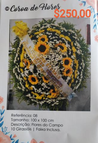 Coroas funebres - Foto 5