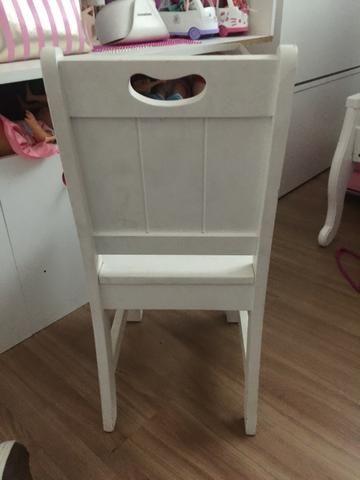Cadeira para estudo infantil branca Tok Stok - Foto 3