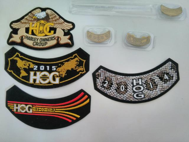Patches e pins Harley Davidson