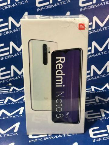 Xiaomi Note 8 Pro 64GB Preto - Novo - Loja Centro de Niterói