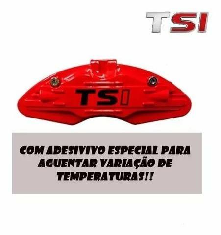Capa Pinça De Freio Vermelha - Foto 2