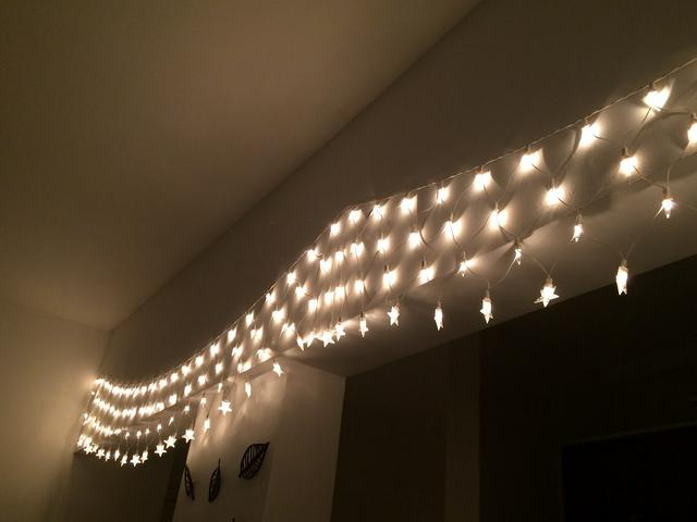 Pisca-Pisca de Natal com jogo de luz