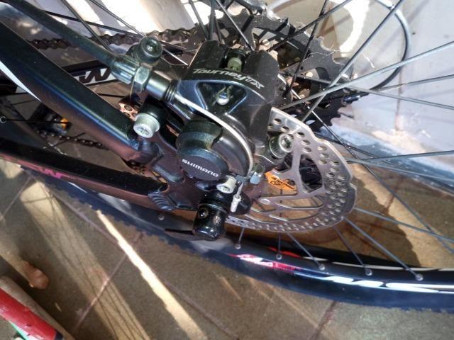 Bicicleta TSW. Aro 29. 24 marchas. Freio a disco - Foto 4