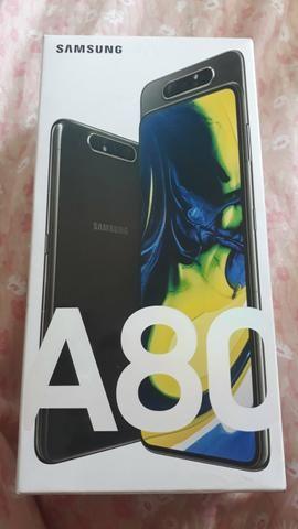Samsung A 80 zero garantia de 1 ano sem uso