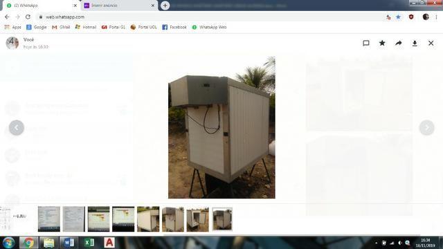 Baú refrigerado para caminhonete - Foto 2