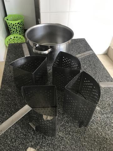 Panela inox para cozimento de macarrão - Foto 3