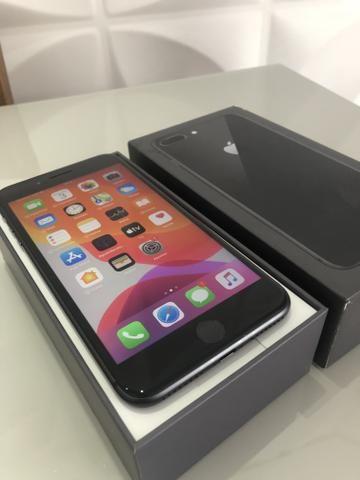 IPhone 8 Plus 64gb Preto intacto - Foto 2