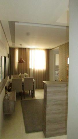 Apartamento 2/4 entrada parcelada em 72 x - 1 ano gratis de condominio - Pronto para Morar - Foto 12