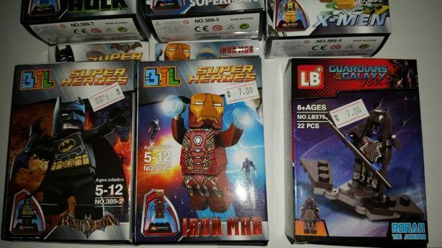 Brinquedos lego de super heroi - Foto 2