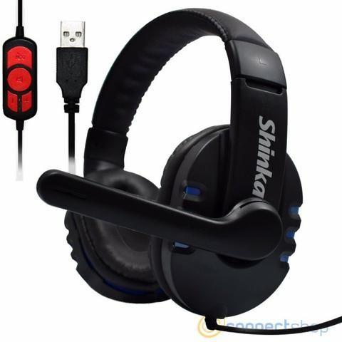 Fone Ouvido Gamer Usb Headphone Microfone Ps4 Pc Notebook .5.1