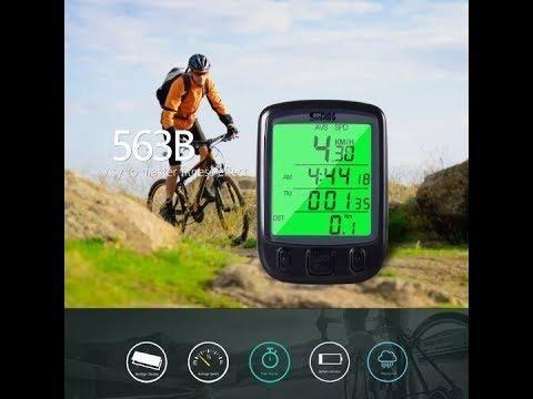 Velocímetro Ciclo Computador Bike Sensor Com Fio Luz Noturna - Foto 4