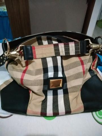 a2200e26d Bolsa quadriculada - Bolsas, malas e mochilas - Colônia Santo ...