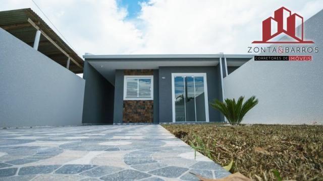 Casa à venda com 3 dormitórios em Nações, Fazenda rio grande cod:CA00058 - Foto 4