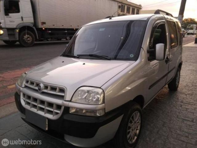 Fiat Doblo Hlx 1.8 Completa com Gnv 7 Lugares - 2008