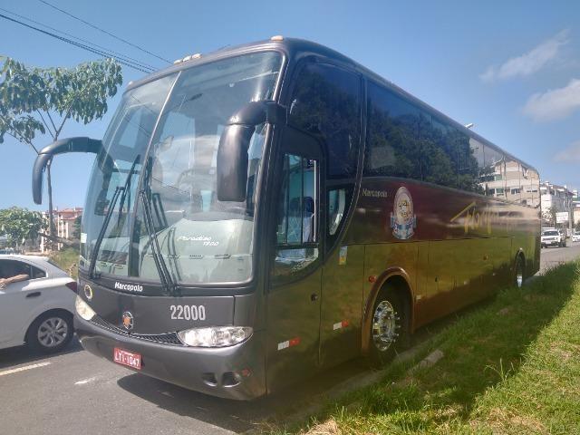 Ônibus volvo B7R 2005/06 Marcopolo 1200